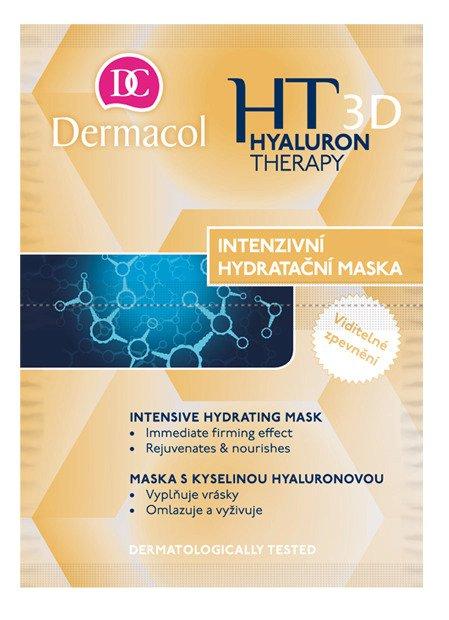 Intenzivní hydratační a remodelační maska 3D hyaluron Therapy Mask, Dermacol, 55 Kč, www.dermacol.cz