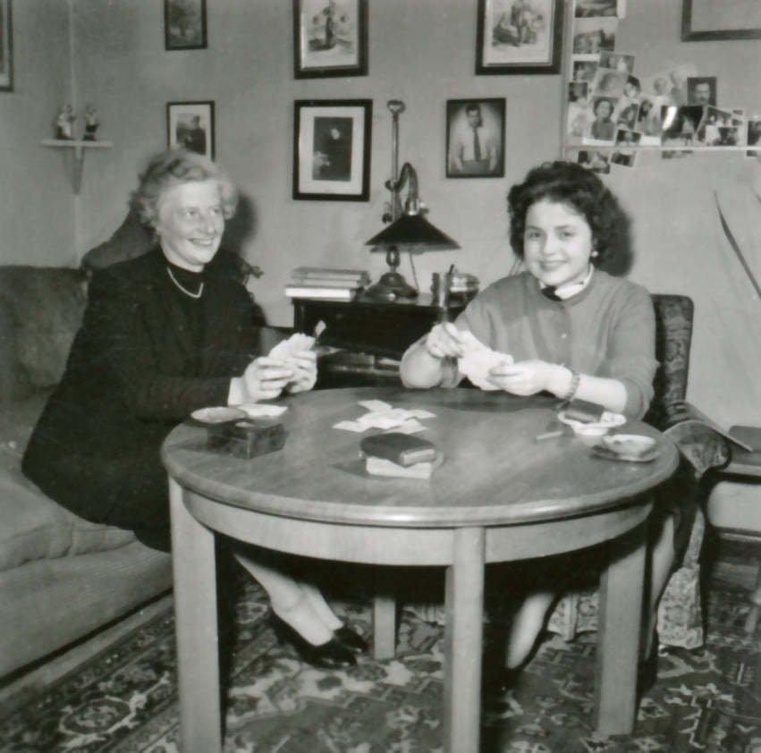 Mathilda Nostitzová s matkou