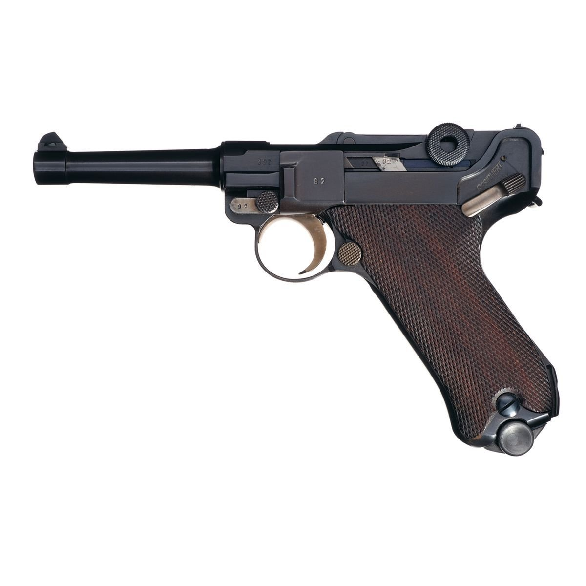 Mauser Luger 9 mm - Patřila do výzbroje nacistů.