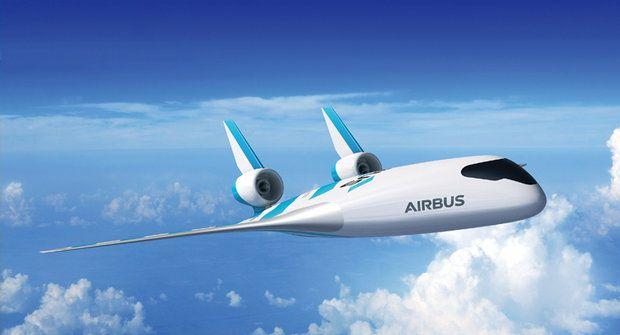 Nový Airbus oprášil starou vizi: Sníží spotřebu a převeze víc lidí