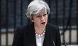 Theresa Mayová po útoku promlouvá k Britům.