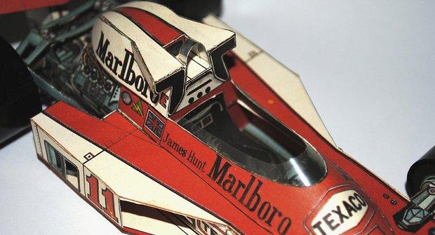 Papírová historie #23: Čtyřicetiletý papírový McLaren