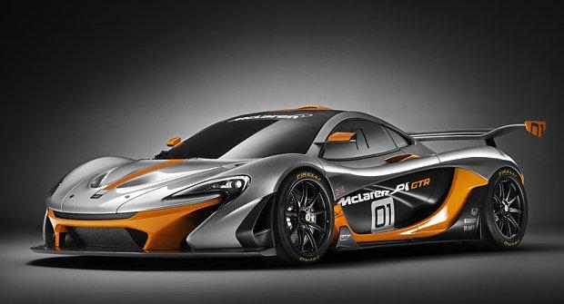 Jak jezdí McLaren P1 GTR?