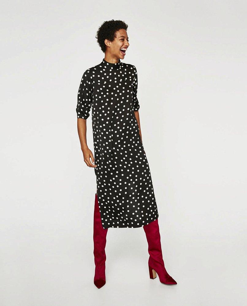 Puntíkaté šaty, Zara, 2299 Kč