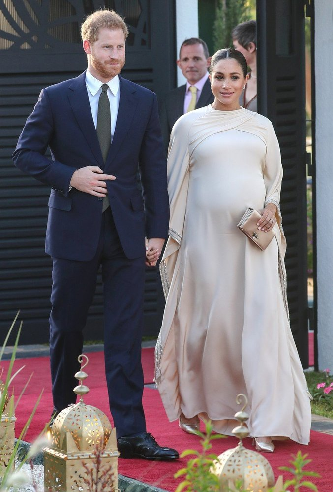 Vévodkyně Meghan v róbě Dior