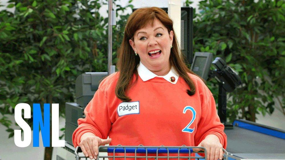 Melissa Mccarthy nakupuje v SNL