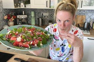Melounový salát s fetou podle Koko: Tuhle rychlovku budete v létě zbožňovat