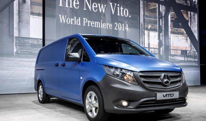 Mercedes-Benz Vito nese původní jméno, ale je nový v každém detailu