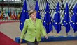 Summit EU v Bruselu. Angela Merkelová