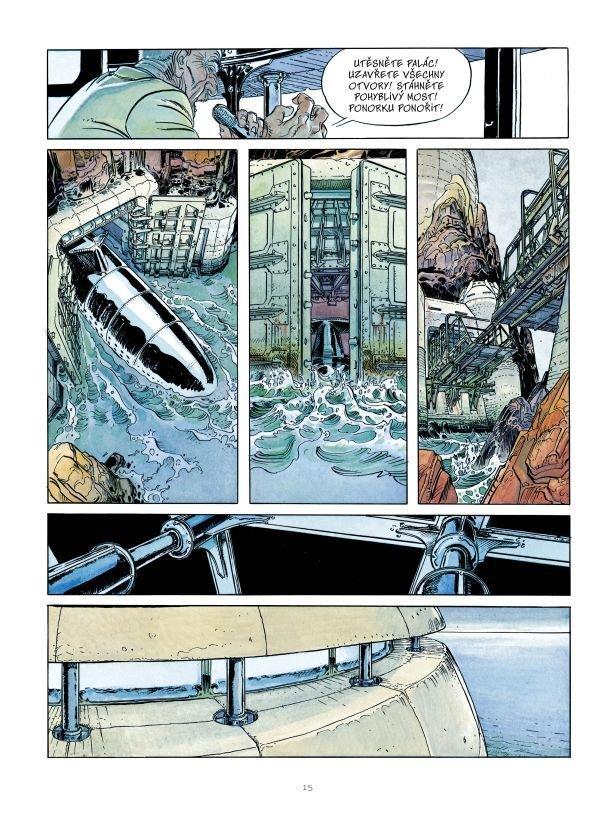 Měsíční tvář je 27. knihou v řadě Mistrovská díla evropského komiksu