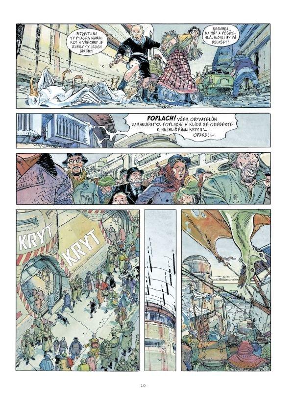 České vydání komiksu Jodorowského a Boucqa obsahuje původních pět alb série Face de lune, vydané nakladatelstvím Caterman