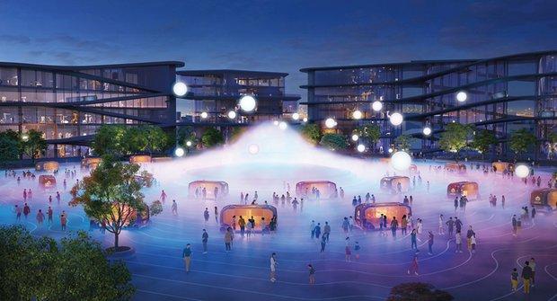Město budoucnosti pro lidi, roboty a digitální technologie je tady