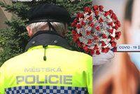 Pražští strážníci řešili za únor více provinění proti vládním opatřením. Rozdali 625 pokut
