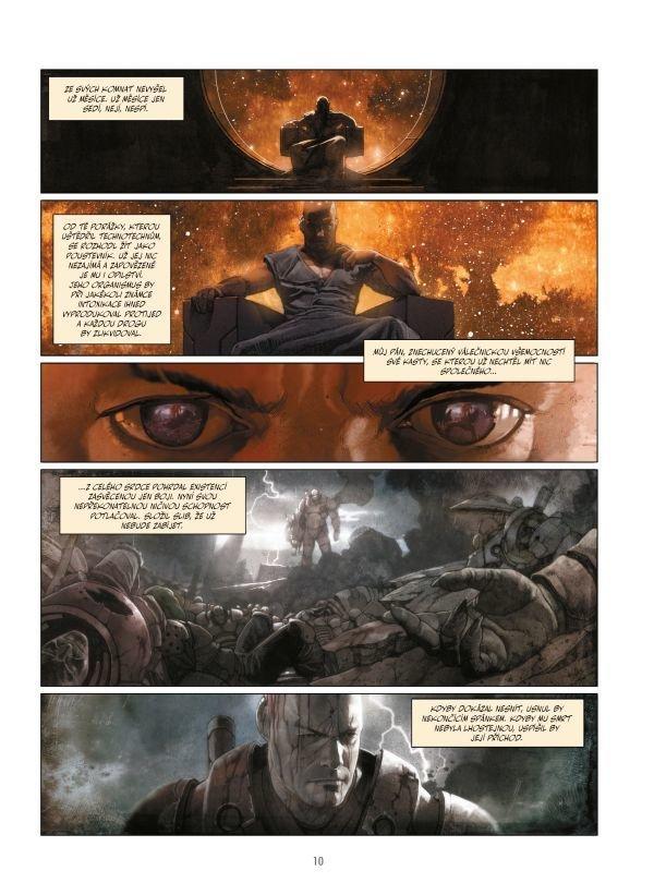 Nové osudy galaktického superbojovníka, stvořeného Jodorowským a Moebiem v Incalu a proslaveného Jodorowským a Giménezem v Kastě Metabaronů