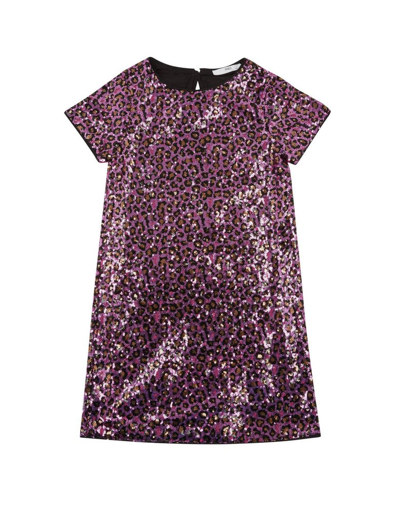 Dívčí flitrové šaty (6–16 let), Marks & Spencer, 999 Kč