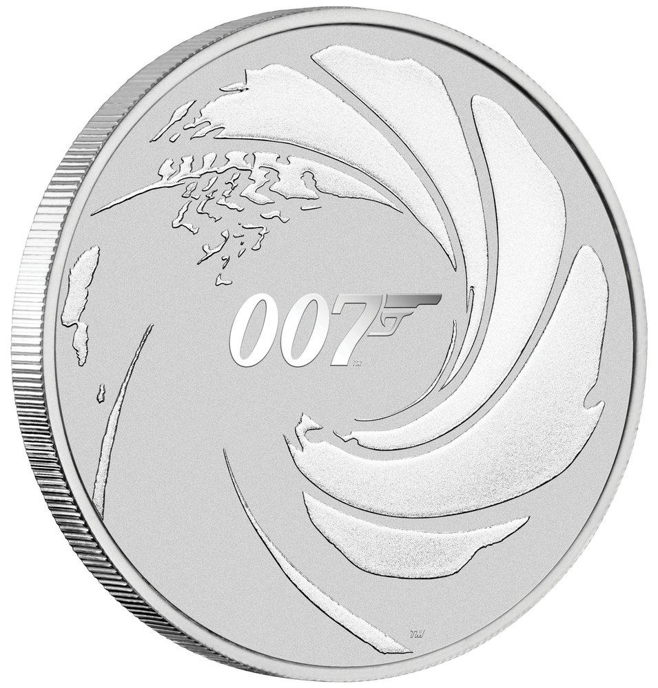 Stříbrná investiční mince James Bond, Golden Gate, 1390 Kč