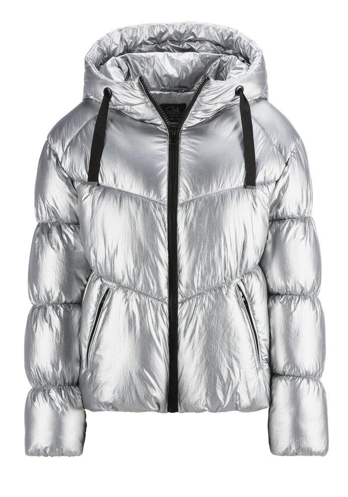 Stříbrná zimní bunda, C&A, 1398 Kč