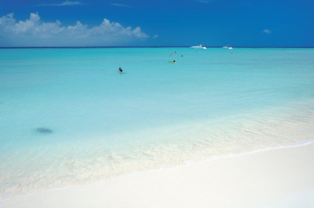 Pláž Playa Norte