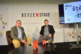Reflex na Desingbloku: S Michalem Cabanem o svobodě, štěstí, Bartoškovi i účinkování…
