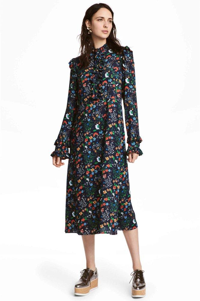 Květinové šaty, H&M, 1299 Kč
