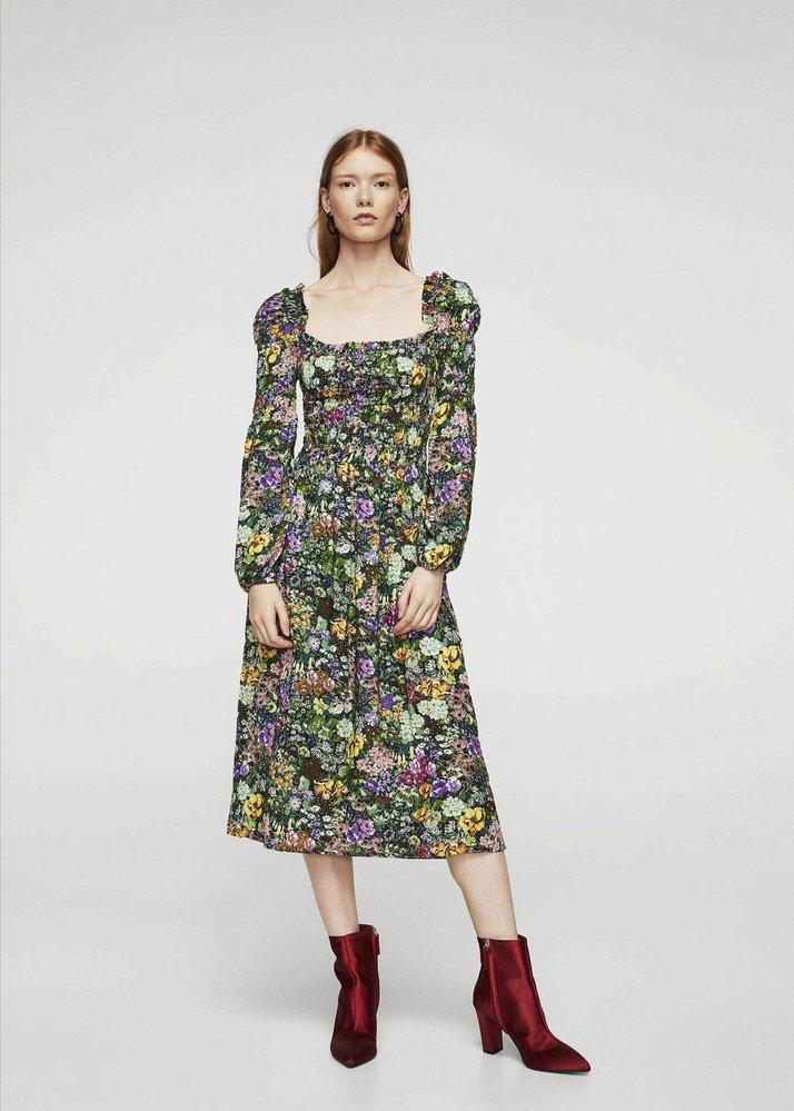 Květované šaty, Mango, 1299 Kč