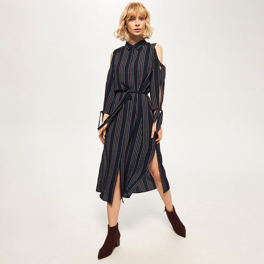 Pruhované šaty, Reserved, 499 Kč