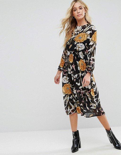 Květované šaty, Bohoo, 22 eur, www.asos.com