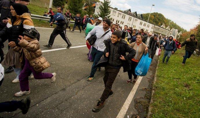 Migranti ve Slovinsku