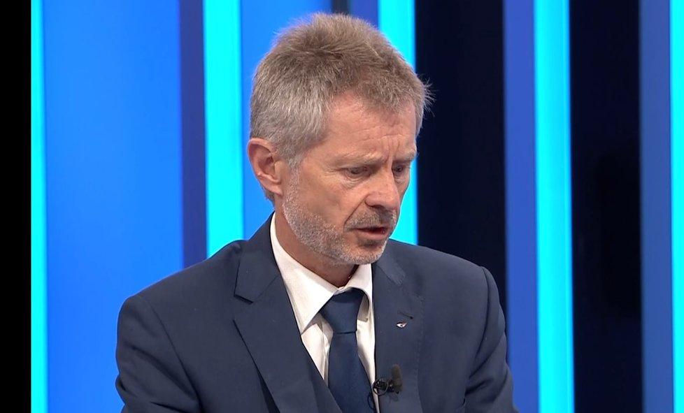 Šéf Senátu Miloš Vystrčil (ODS) v Partii na Primě (17.10.2021)