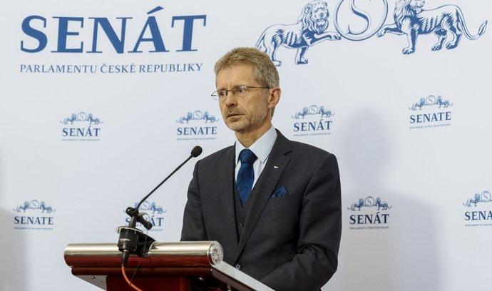 Šéf Senátu Miloš Vystrčil navrhuje přerozdělování ve společnosti
