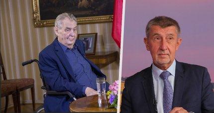 Prezident Miloš se po v nedělí na zámku v Lánech sejde s předsedou hnutí ANO Andrejem Babišem.