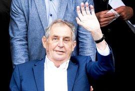 Senát bude možná jednat 9. listopadu o stavu prezidenta Zemana, rozhodne organizační výbor