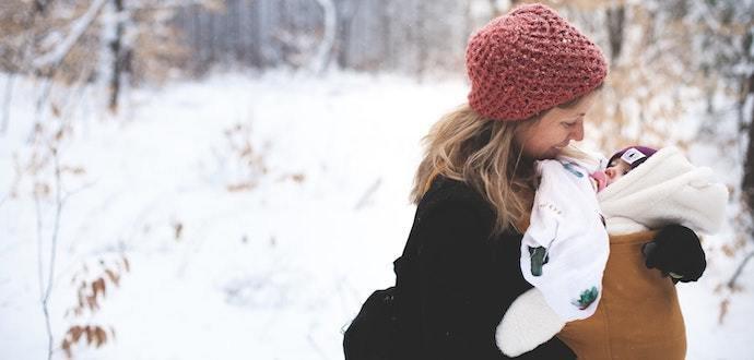 Jak správně oblékat miminko do mrazu