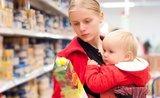 Jak zvládnout nákupy s miminkem