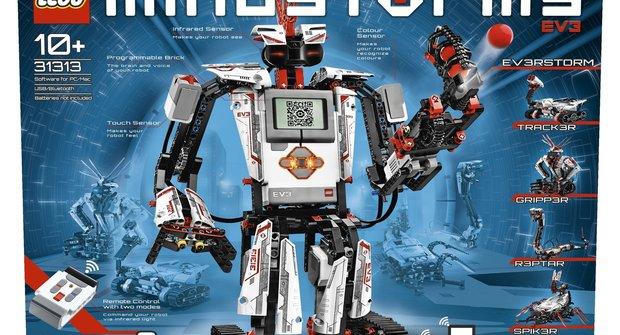 Mindstorms EV3: Domácí robotická laboratoř