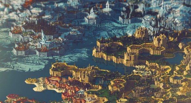 Minecraft: Mapa za 400 hodin