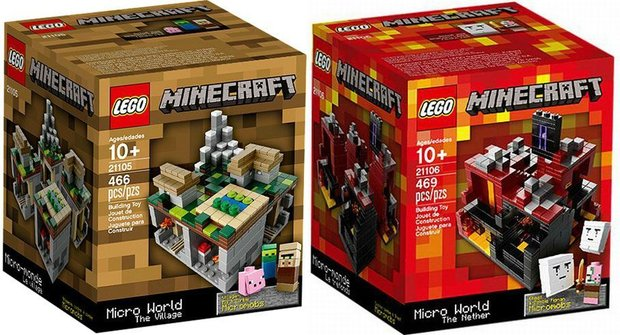 LEGO a Minecraft najdete dohromady v jedné krabici