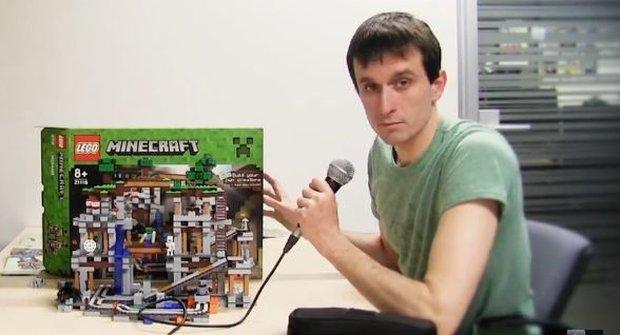 Ábíčko staví LEGO Minecraft: Jako boss?!!