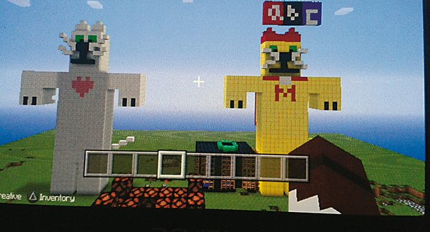 Jakub versus Minecraft