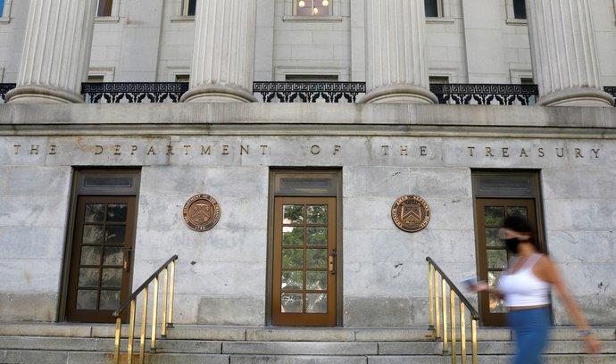 Sídlo ministerstva financí USA, Washington DC