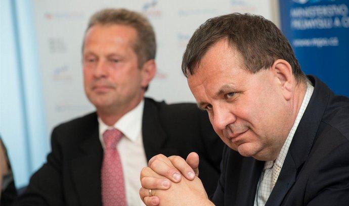 Ministr průmyslu Jan Mládek