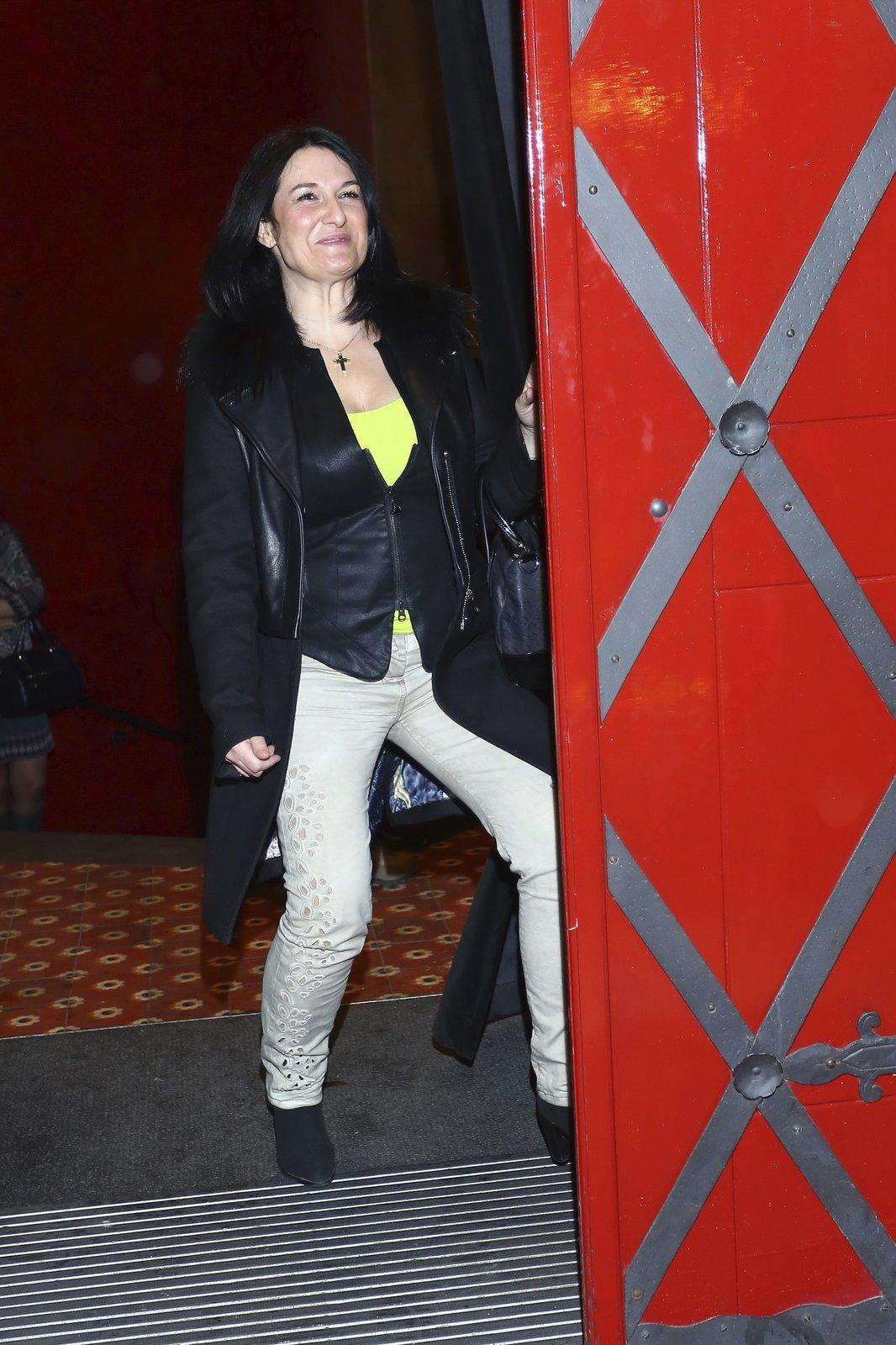 2014 - Mirka Čejková se věnuje koučování a vypadá zase spokojeně.
