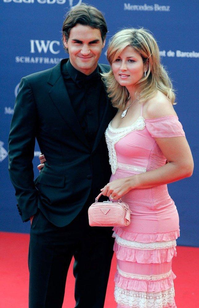 Mirka Federer byla dříve blondýna