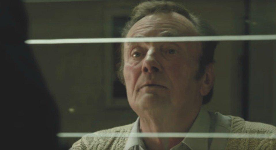 Miroslav Kaman v roli vrátného ve filmu Bonny a klid 2