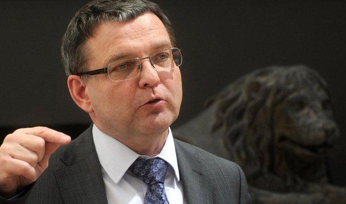 Místopředseda sněmovny a ČSSD Lubomír Zaorálek
