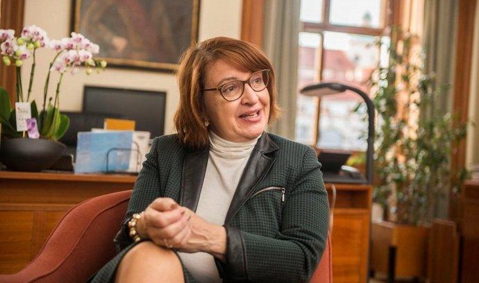 Místopředsedkyně Senátu Miluše Horská