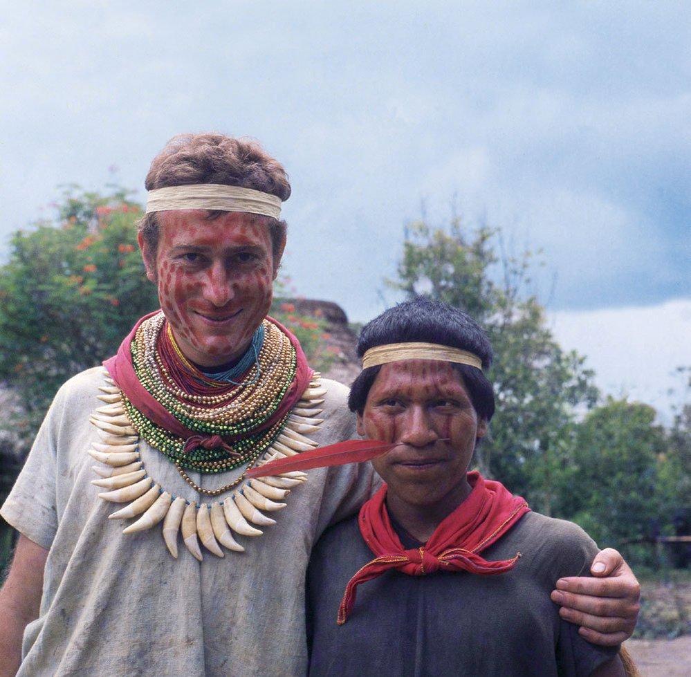U indiánského kmene Kofánů, rok 1972