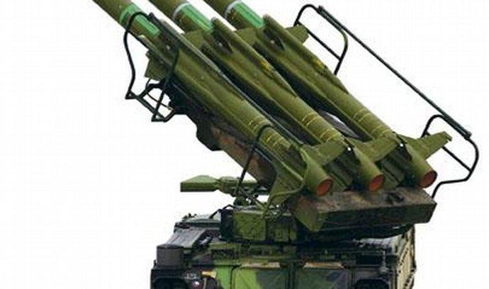 Mobilní raketomety KUB, zvané Tři prsty smrti