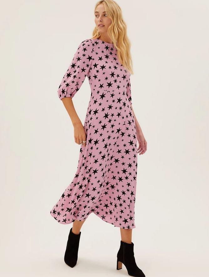 Midaxi šaty, Marks & Spencer, 1499 Kč