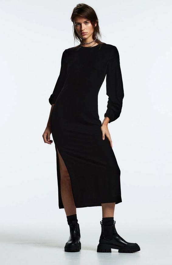 Sametové šaty, Zara, 1199 Kč
